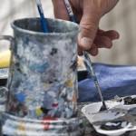 A Painter's Palette, by Debra Brash, Times Colonist
