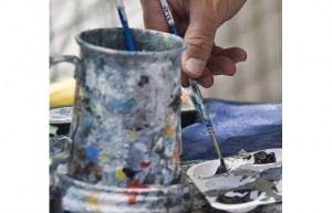 A Painter's Palette, by Debra Brash, Times Colonist