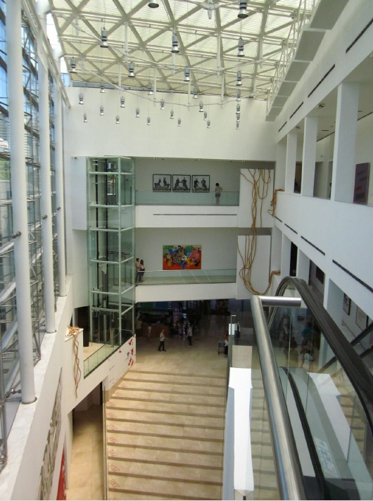 Great hall at the Malba
